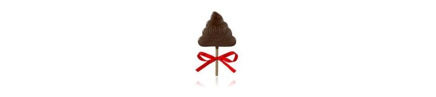 Lizaki z czekolady